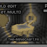 WorldEdit – Mod/Outil pour Minecraft 1.8.3/1.8/1.7.10/1.7.2/1.5.2