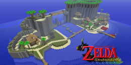 Wind Waker – Texture Pack pour Minecraft 1.8.3/1.8/1.7.10/1.7.2/1.5.2
