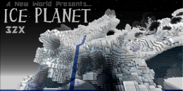 [Texture Pack – 1.2.5] Ice Planet (32x)