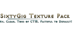 SixtyGig – Texture Pack pour Minecraft 1.8.3/1.8/1.7.10/1.7.2/1.5.2
