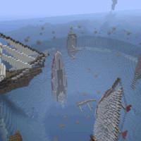 Lost in Bermuda Triangle – Map Aventure pour Minecraft