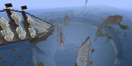 Lost in Bermuda Triangle – Map Aventure pour Minecraft