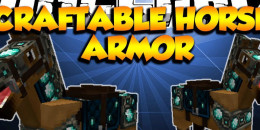 Craftable Horse Armor Mod pour Minecraft 1.8.3/1.8/1.7.10/1.7.2/1.5.2