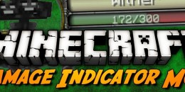 Damage Indicators – Mod pour Minecraft 1.8.3/1.8/1.7.10/1.7.2/1.5.2