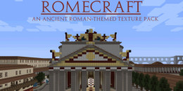 RomeCraft – Texture Pack pour Minecraft 1.8.3/1.8/1.7.10/1.7.2/1.5.2