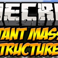 Instant Massive Structures Mod Minecraft 1.8.3/1.8/1.7.10/1.7.2/1.5.2