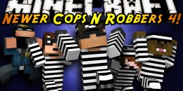 Cops and Robbers 4 : High Security – Map Prison pour Minecraft
