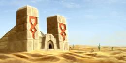 [Wallpaper] Jour 331 : Minecraft Desert Temple