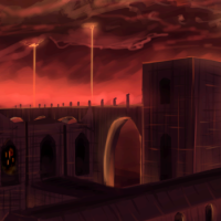 [Wallpaper] Jour 330 : Minecraft Nether Fortress